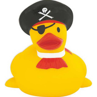 Rubber One-Eyed Pirate Duck