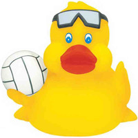 Rubber Volleyball Duck