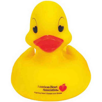 Heart Shape Eyes Rubber Duck