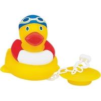 Rubber Poolpal Duck w/Bath Tub Plug