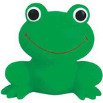 Rubber Smiley Frog