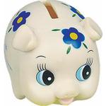 Rubber Daisy Piggy Bank