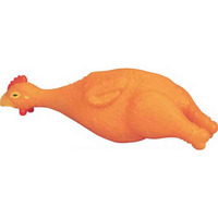 Rubber Chicken Dog Toy