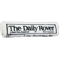 Rubber Rolled Newspaper Dog Toy