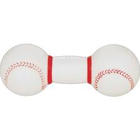 Rubber Baseball Dumbbell Dog Toy