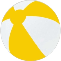 """16"""" Inflatable Two Alternating Color Beach Ball"""