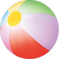 """16"""" Inflatable Rainbow Shaded Beach Ball"""