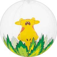 "16"" Inflatable Giraffe in The Jungle Beach Ball"