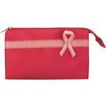 Pink Ribbon Accessory Bag