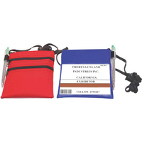 Double Zipper Trade Show Holder