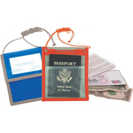 Deluxe Trade Show Badge Holder/Travel Pouch