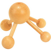 Circle Shape Wooden Massager
