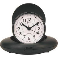 Oval Foldable Mini Alarm Clock