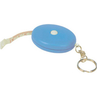 Oval Shape Tape Measure w/Key Chain