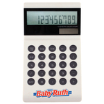 Prism Ultra Slim Table Desktop 12 Digit Solar Calculator
