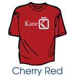 Custom Printed T-Shirts - Cherry Red