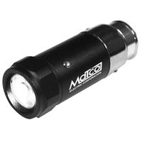 Rechargeable LED Auto-Plug Flashlight with Aluminum Housing