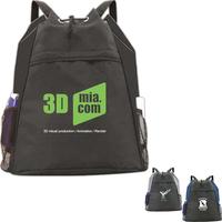 Bi-Line Drawstring Backpack