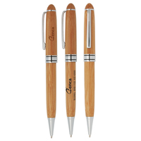 Classic Style Eco-Bamboo Twist Pen