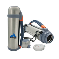 Stainless Steel Thermos with Handle