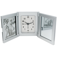 Trifold alarm clock - picture frame and Miror