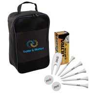 Golf Balls, Tees, Markers, Divot Repair Tool and a Bag