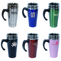 14 oz / 414ml Stainless Steel Travel Mug