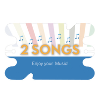 Music Download No-Tangle Card