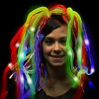 Rainbow LED Light Up Costume Diva Dreads™
