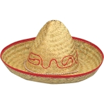 Child's Straw Sombrero