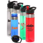 24 oz BPA Free Tritan Water Bottles