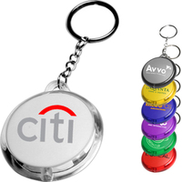 Round Translucent Light Keychains