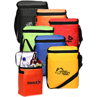 12 Pack Polyester Cooler Lunch Bag