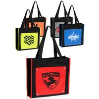 Artsy Color Pocket Tote Bags