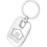 Rounded Corner Keychain