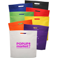 "15"" W x 16"" H Exhibition Tote Bags"