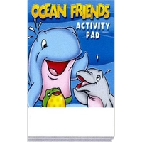 Ocean Friends Activity Pad Fun Pack