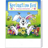 Springtime Fun Coloring and Activity Book Fun Pack