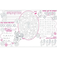 Springtime Activity Placemat