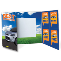 Coupon Gatefold Photo Folder - Standard