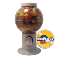 Gumball Machine Dispenser with Jelly Beans Candy