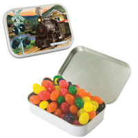Large Hinged Candy Tin with Jelly Beans