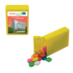 Refillable Plastic Candy Dispenser with Gum