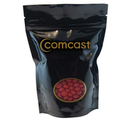 Large Window Bag with Cinnamon Red Hots Candy