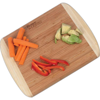"11 1/2"" x 13 1/2"" Deluxe Bamboo Cutting Board"
