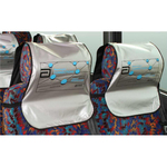 Convention Bus Headrest Cover - Large