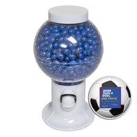 Gumball Machine Dispenser with Corporate Jelly Beans Candy
