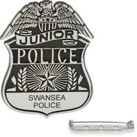 Junior police badge