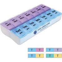 Weekly Twice-a-Day Pill Organizer