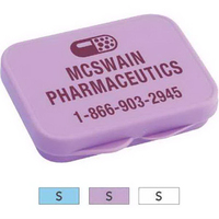 Pocket/purse pill box